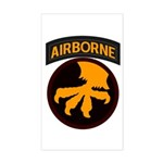 17th Airborne Sticker (Rectangle)