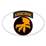 17th Airborne Sticker (Oval)