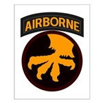 17th Airborne Small Poster