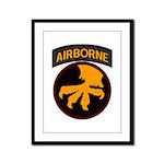 17th Airborne Framed Panel Print