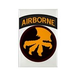 17th Airborne Rectangle Magnet
