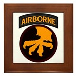 17th Airborne Framed Tile