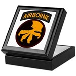 17th Airborne Keepsake Box