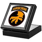 17th Airborne Keepsake Box