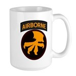17th Airborne Large Mug