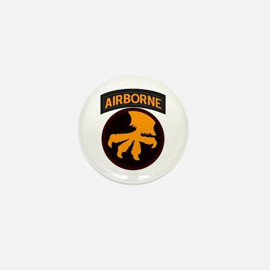 17th Airborne Mini Button