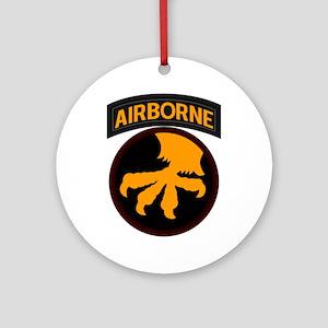17th Airborne Ornament (Round)
