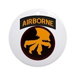 17th Airborne Ornament (Round)