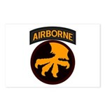 17th Airborne Postcards (Package of 8)
