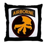 17th Airborne Throw Pillow