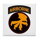 17th Airborne Tile Coaster