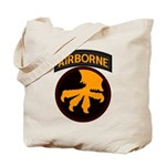 17th Airborne Tote Bag