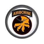 17th Airborne Wall Clock