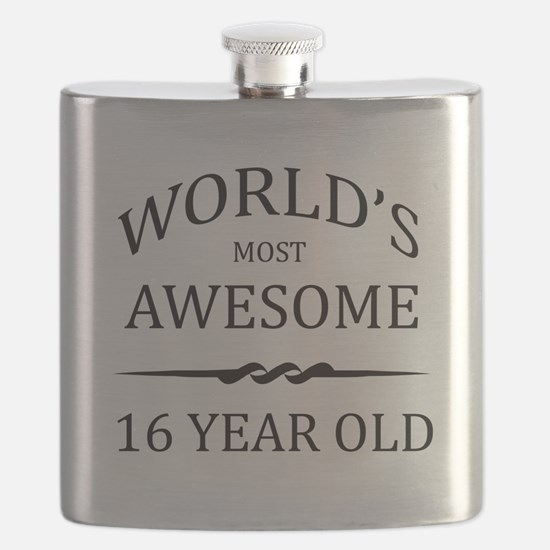 World's Most Awesome 16 Year Old Flask