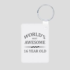 World's Most Awesome 16 Year Old Aluminum Photo Ke