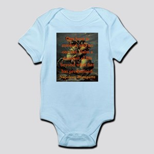 Our Hour Is Marked - Napoleon Infant Bodysuit