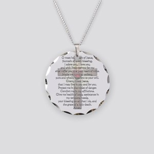 Sacred Heart of Jesus Cross Necklace