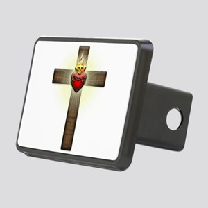 Sacred Heart of Jesus Cross Hitch Cover