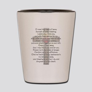 Sacred Heart of Jesus Cross Shot Glass