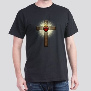 Sacred Heart of Jesus Cross T-Shirt