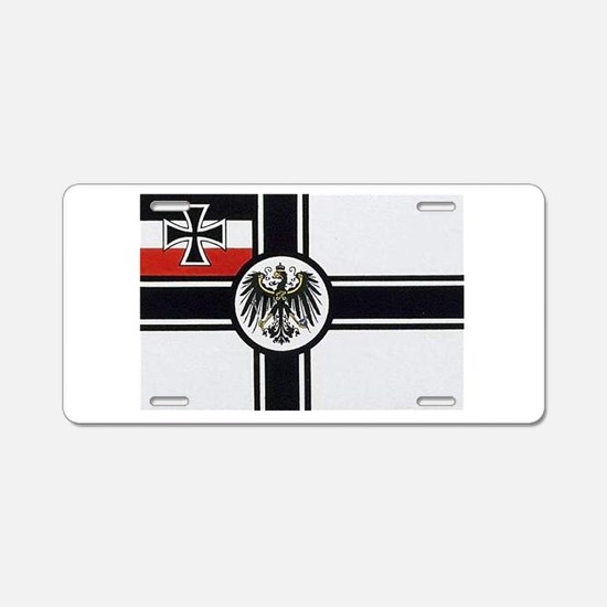 Cute German Aluminum License Plate