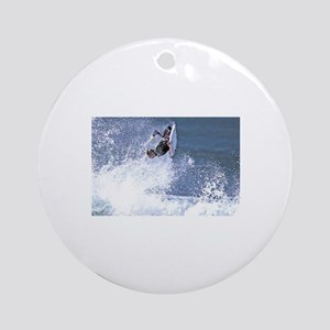 Surf and Bodyboard Ornament (Round)