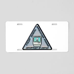 VICAP Dept of Justice Aluminum License Plate