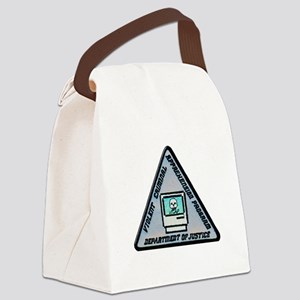 VICAP Dept of Justice Canvas Lunch Bag