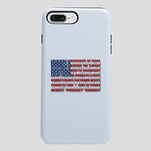 Political Protest America iPhone 7 Plus Tough Case