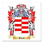Barat Square Car Magnet 3