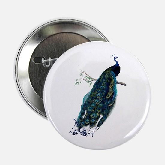 """Peacock 2.25"""" Button"""