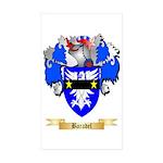 Baradel Sticker (Rectangle 50 pk)