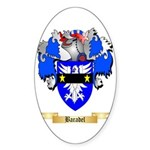 Baradel Sticker (Oval 10 pk)