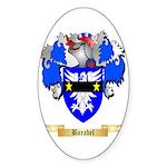 Baradel Sticker (Oval 50 pk)