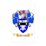Baradas Sticker (Rectangle 50 pk)