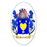 Baptiste Sticker (Oval 10 pk)