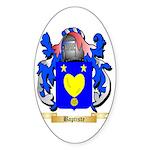 Baptiste Sticker (Oval 50 pk)