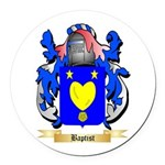 Baptist Round Car Magnet