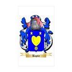 Baptie Sticker (Rectangle 10 pk)