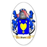 Baptie Sticker (Oval 10 pk)