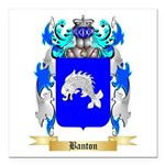 Banton Square Car Magnet 3