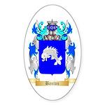 Banton Sticker (Oval 50 pk)