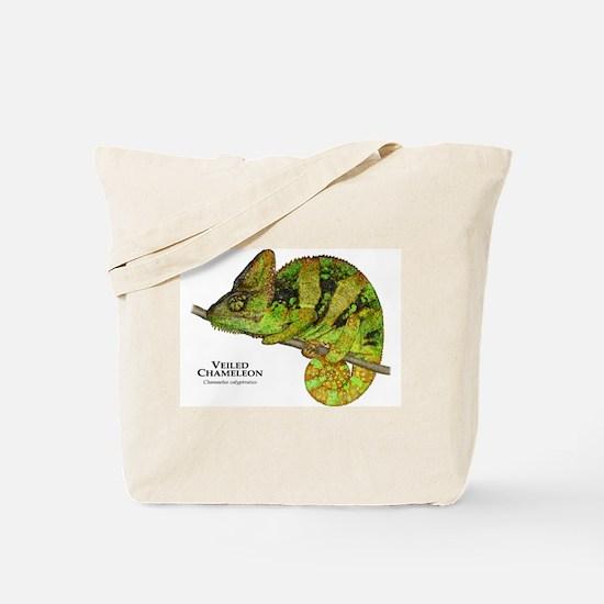 Veiled Chameleon Tote Bag