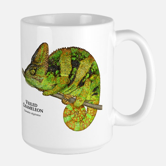 Veiled Chameleon Large Mug