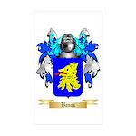 Banos Sticker (Rectangle 50 pk)