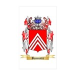 Bannister Sticker (Rectangle 10 pk)