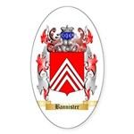 Bannister Sticker (Oval 50 pk)