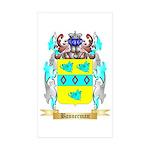 Bannerman Sticker (Rectangle 50 pk)