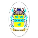 Bannerman Sticker (Oval 10 pk)