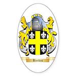Bankes Sticker (Oval 50 pk)